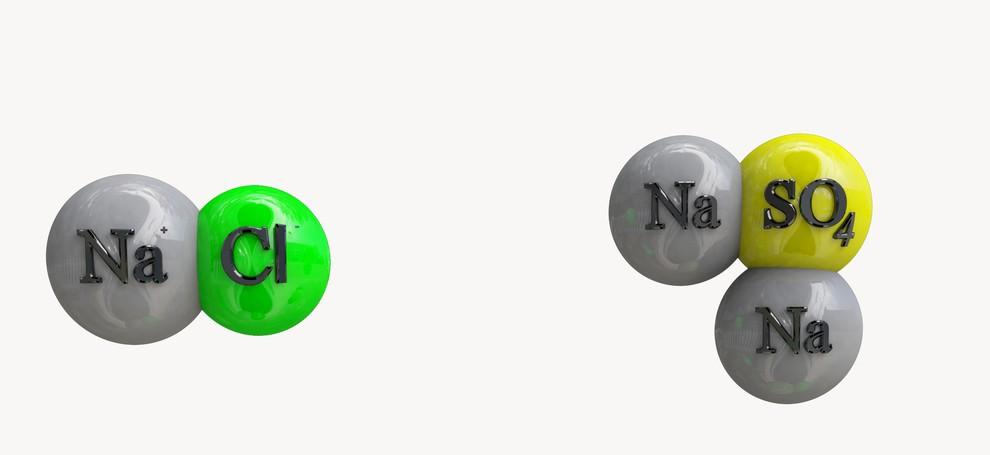 Acetates, Carbonates, Chlorides, Citrates, Phosphates, Sulfates, Sulfites, Tartrates, etc